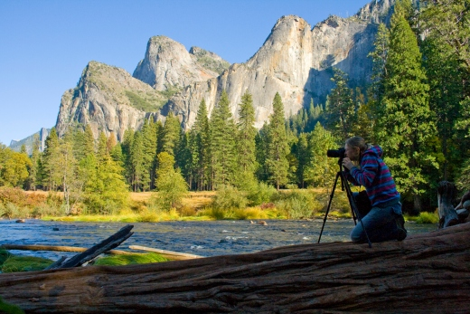 photographing the beauty of yosemite
