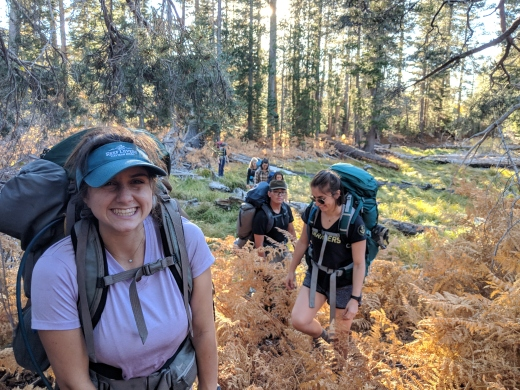 backpacking desolation
