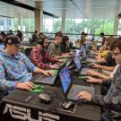 students playing at Spring LAN 2019